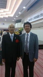 青木区長と社長